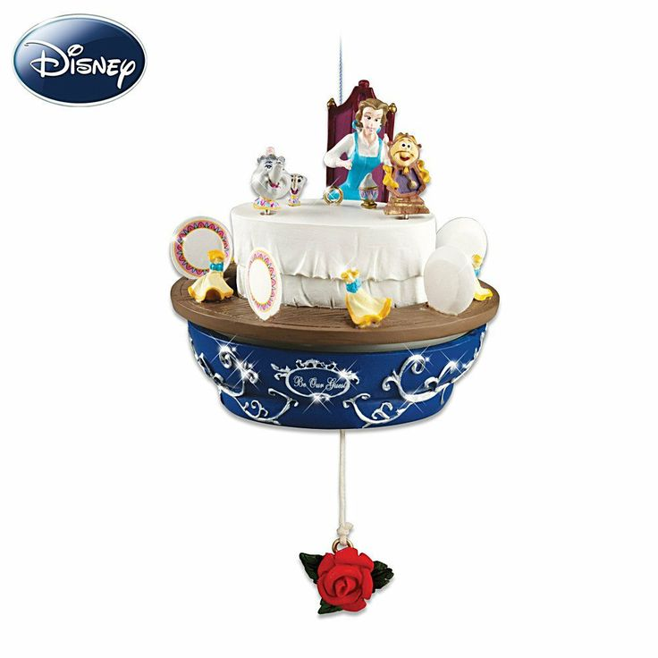 Disney Beauty And The Beast Christmas Ornament: Belle Be Our Guest by Hawthorne Village |  Price:	$29.99