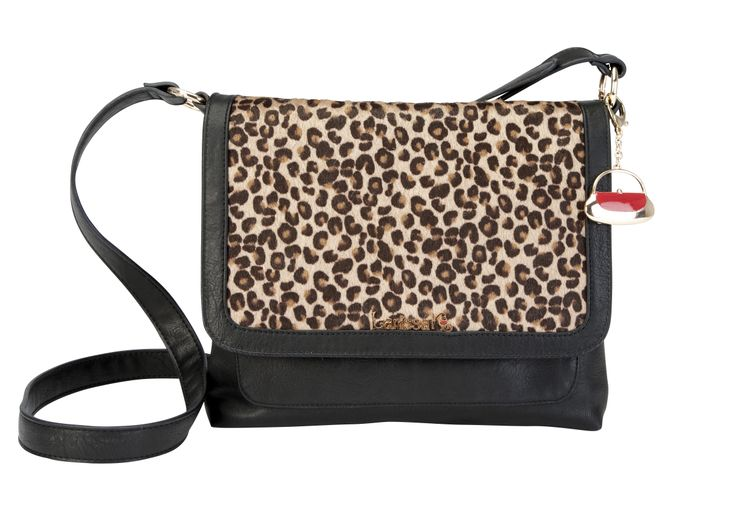 GET THE LOOK - Pair our London Across Body in black with our Brown Leopard TrendStyler™ http://www.larissa-k.com/base-bags/london-across-body-black-detail AND http://www.larissa-k.com/trendstylers/brown-leopard-trendstyler-detail