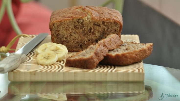 Grandma's Banana Bread (made GF!) – I was craving banana bread today, and every good craving deserves a delicious gluten-free recipe, don't you think? Fortunately for me, a reader had recently shared her great-grandmother's banana bread recipe, and invited me to try it. Knowing that grandma's recipes are always the best (no matter whose grandmother — that's just a constant), I was eager to give her recipe a try. I updated grandma's recipe... #bananabread #bananamuffin #banananut
