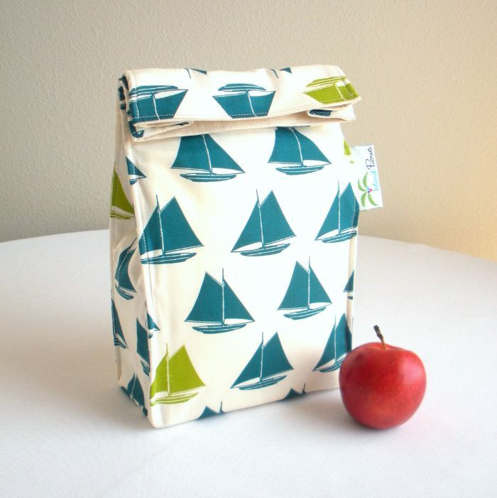 Eco Friendly insulated childrens lunch bags by IslandPicnic
