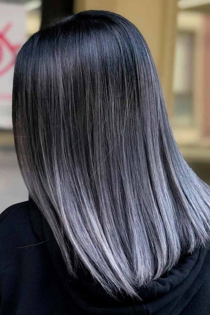 15 Grey Ombre Hair Ideas To Rock This Year Grey Ombre Hair Grey Hair Dye Silver Hair Color