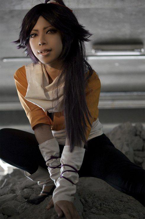 cosplay Yoruichi Shihouin (Bleach) (Cosplay)