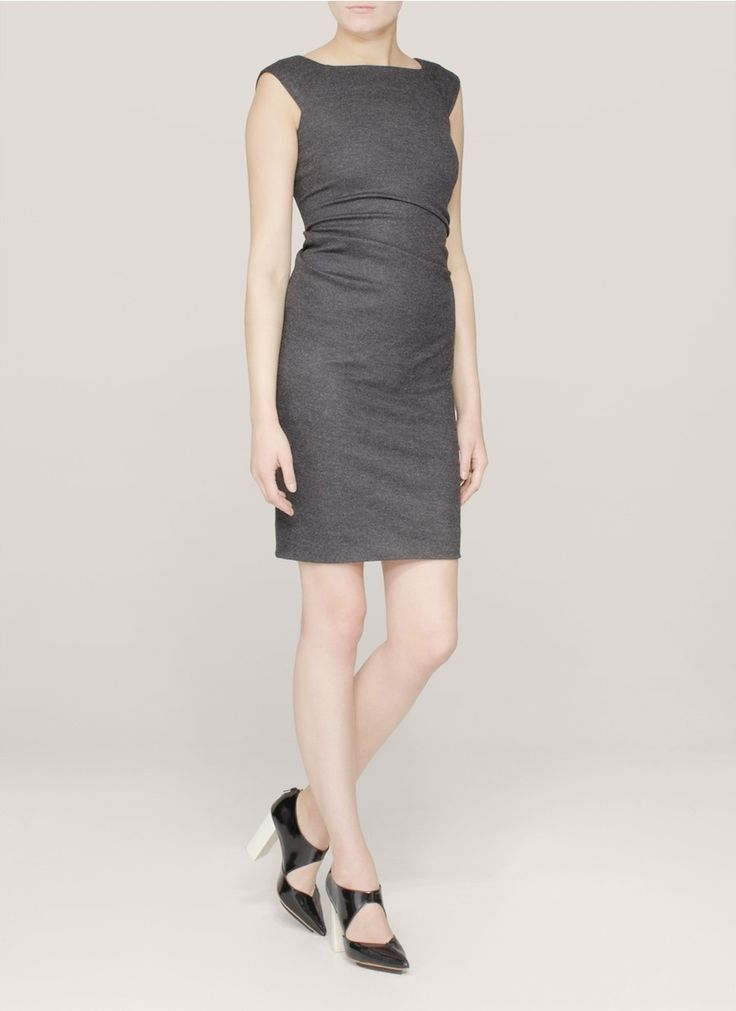Pretty Grey Work Dresses