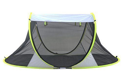 SolarWave Outdoor Easy-up Pop-up Beach Sun Tent. Pure ENJOYMENT Relax Recharge #SolarWave