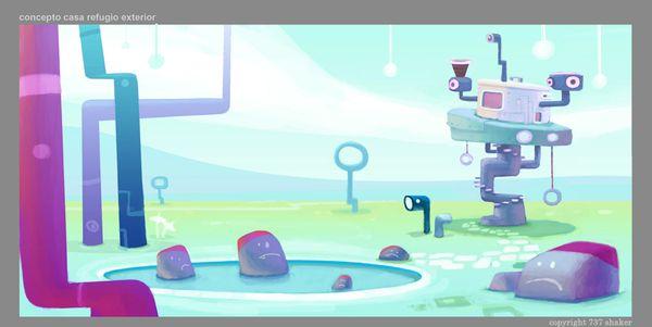 JELLY JAMM: Animation, concept artist, 2D Design by Pedro Bascon, via Behance