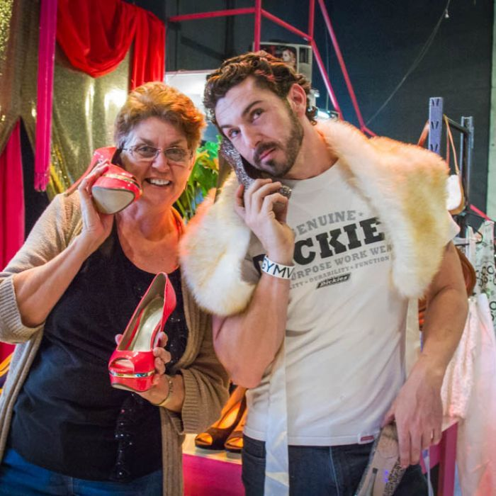Down a small alleyway in Brisbane's inner north, an op shop is making a difference for the homeless.