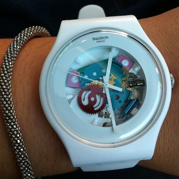 WHITE LACQUERED http://swat.ch/White_Lacquered #Swatch: Sons Some