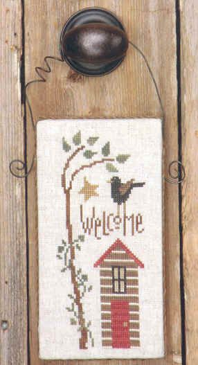 cross stitch - welcome - bent creek