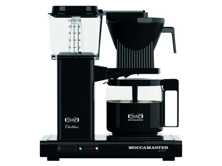 Moccamaster Kaffebryggare KBG962AO Black 1695 Kr Pictures Gallery