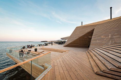 Sauna culture  Sauna bathing is an essential part of Finnish culture and national identity. There are only 5,4 million Finns but 3,3 million saunas. Public saunas used to be common in bigger cities but now that most new apartments have sauna...