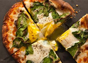 PIta breakfast pizza