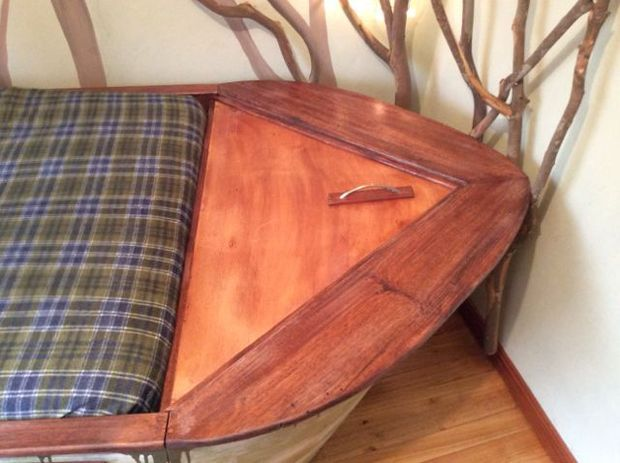 Boat Bed with secret compartments