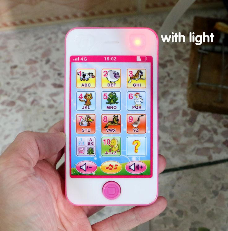 English Mobile Phone Touch Screen Baby Toys Fun Children Music Education Wholesale Educational Enlightenment