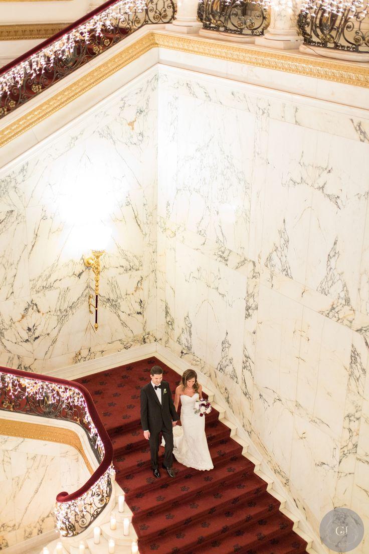 Planner: Angela Proffitt Venue: The Metropolitan Club, New York City Photographer: Charlie Juliet Photography