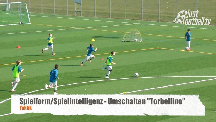 """Wie bringe ich meine Spieler spielend zum Umschalten ohne sie zu jagen? justfootball.tv zeigt mit """"Torbellino"""" eine Möglichkeit den natürlichen Bewegungsdran..."""