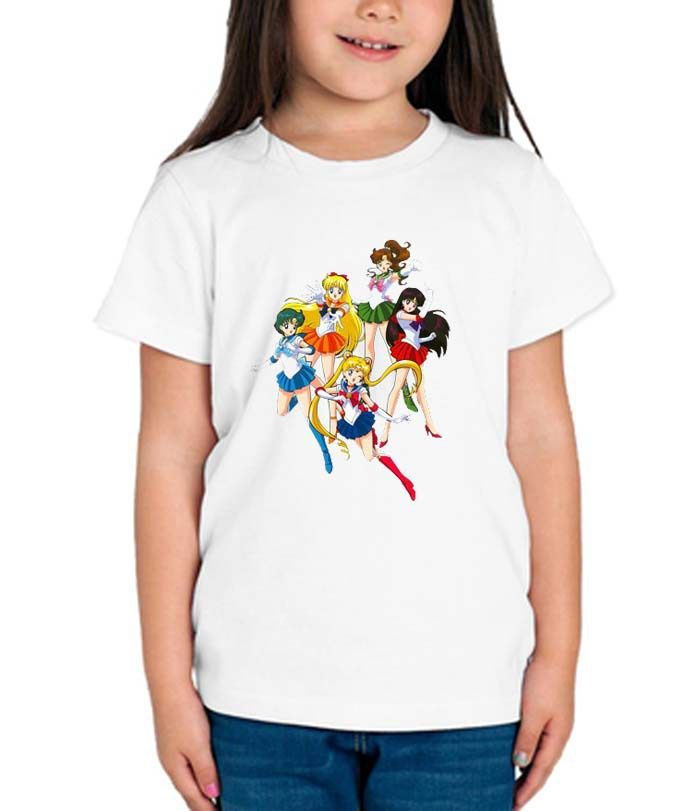 Sailor Moon happy graphic printed youth toddler tshirt
