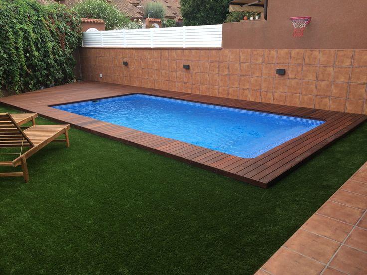 M s de 1000 ideas sobre escalera de piscina en pinterest - Medidas para una piscina ...
