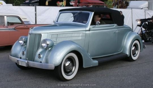 1936 Ford V8 Series 68 Convertible Cabriolet
