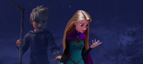 Jack, rapunzel, in frozen.