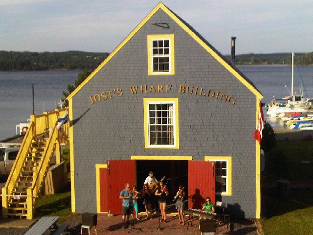 Wednesday evening Community Ceilidhs on the Guysborough Waterfront are one of our Top 10 Nova Scotia Authentic Seacoast summer activities and they start again this evening. Enjoy a Rare Bird Craft Beer and a Guysburger from the Rare Bird Pub and some Harbour Belle gelato from Skipping Stone Cafe & Store and take in the evening show.