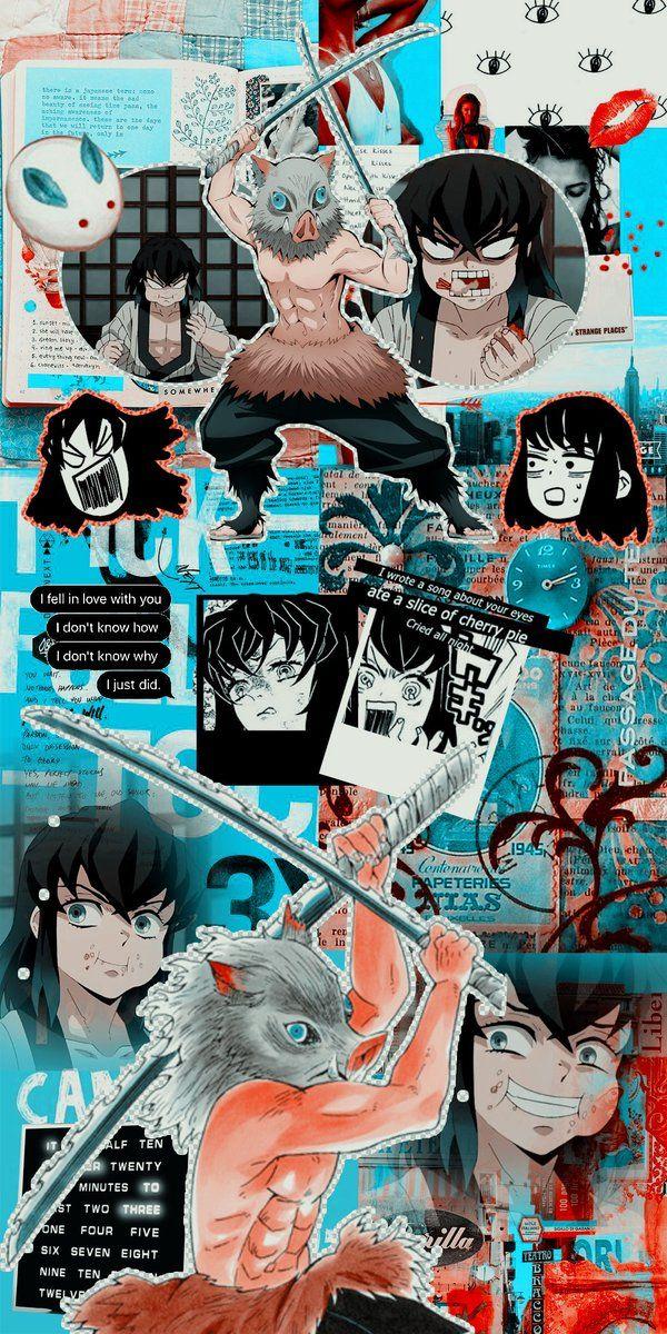 Pin de Laki Milafka em клинок Иноске Wallpaper animes