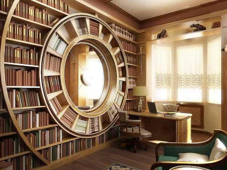 Unusual Library ..
