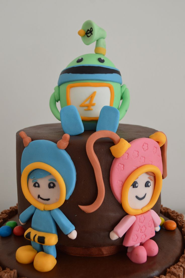 Baby Bot Cake Toppers