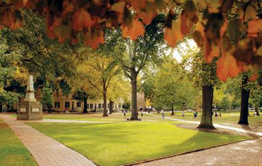 One of the happiest places..The Horseshoe inside the University of South Carolina