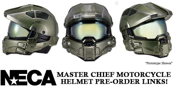 Halo helmet for motorcycles