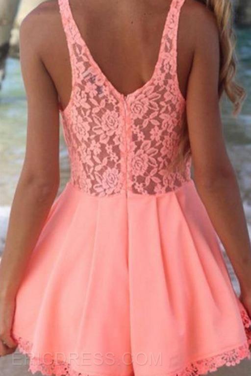 sweet pink dress in summer,lady's fashion cheap short dress online