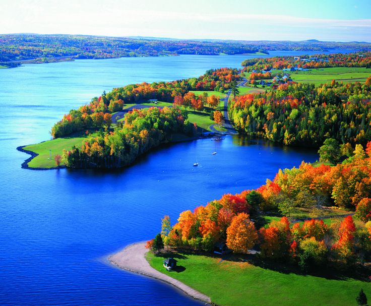 Fall in Mactaquac Provincial Park | New Brunswick, Canada