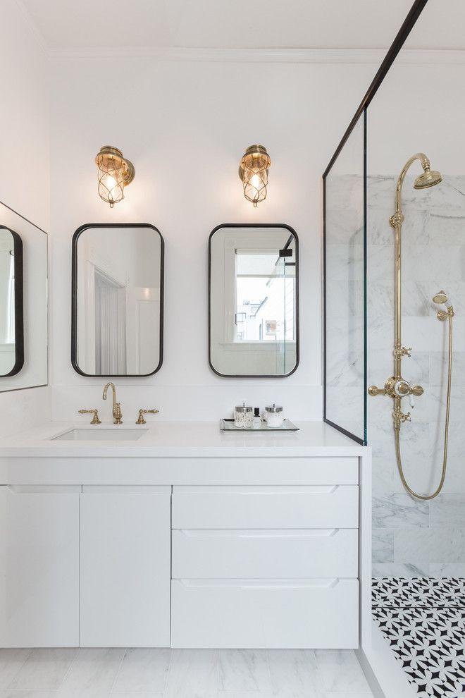 15 crisp clean classic interiors in black