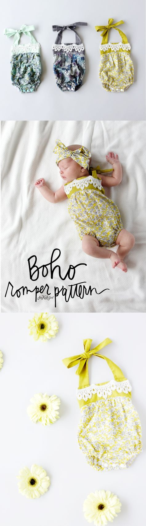 This post is sponsored by Fabric.com! I'm thrilled to share this pattern with you, I had a blast designing it with fabric and trim from Fabric.com! I was going for a vintage-inspired boho feel to this little baby romper and I'm excited about how it turned out! I think it's pretty cute on my little …