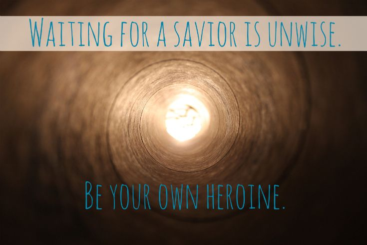 I invite you to read Sarah's beautiful truth and be moved to your core, as I was. (be your own heroine)