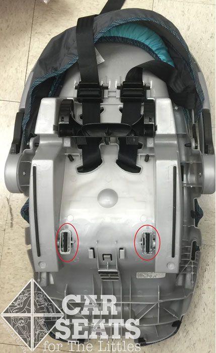 Rear Adjusting Harness Straps