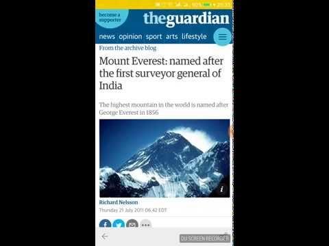 How Everest Got Its Name In Nepali Language Sagaramatha Names