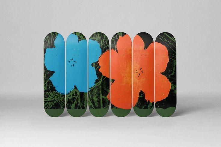 예술적인 스케이트데크를 판매하는 온라인 편집샵 스케이트룸(Skateroom)과 천재 아티스트 앤디 워홀(Andy Warhol)이 협업했다. 다양한 범위의 한정판 스케이트보드 데크를 위해 파운데이션 비쥬얼 아트 (The Andy Warhol Foundation for Visual Arts) 협업 팀을 구성해 진행했다. (자세한 내용은 홈페이지를 통해 확인할 수 있습니다.) #스트릿패션 #스트릿 #패션 #스트릿브랜드 #브랜드 #브랜드컬렉션 #컬렉션 #패션매거진 #매거진 #스트릿컬처 #서브컬처 #유스컬처 #streetfashion #street #fashion #streetbrand #brandcollection #collection #fashionmagazine #magazine #streetculture #subculture #youthculture #스케이트보드 #스케이트보드데크 #데크 #스케이트룸 #더앤디워홀파운데이션비쥬얼아트 #더앤디워홀 #Andywarhol