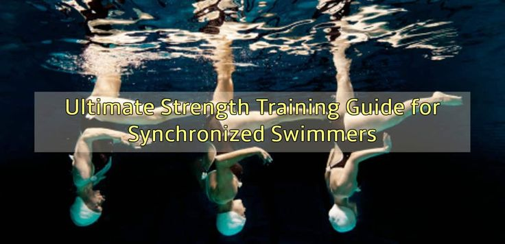 It's graceful, it requires full makeup, and the routines are on-point. Synchronized swimming looks so easy as the swimmers glide through the pool, but it's not just a smile-and-flip sport. Synchronized swimming is intense. We