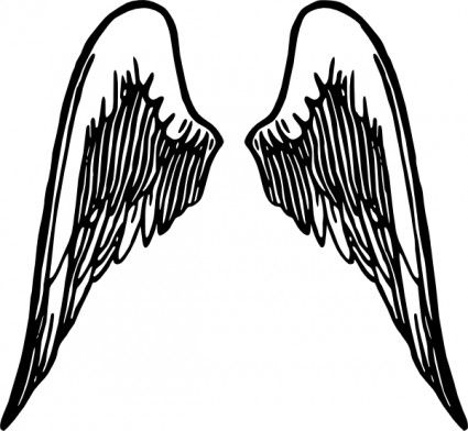 Free angel wing vector art Free vector for free download (about 23 ...