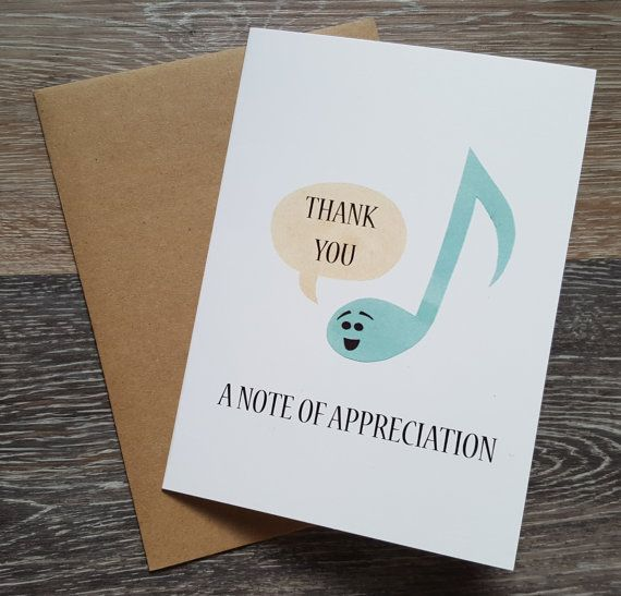 Thank You Cards Appreciation Card Wedding Thank You Cards