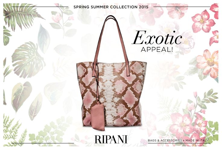 Spring Summer Collection 2015 - model LUNA #feedyourstyle #fashionable #musthave #likeit #madeinitaly #handbags