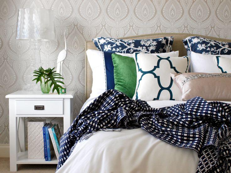 Blue Bedroom By Lisa Marinovich