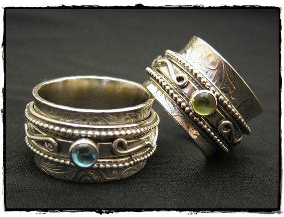 Creative Gems Spinning Rings