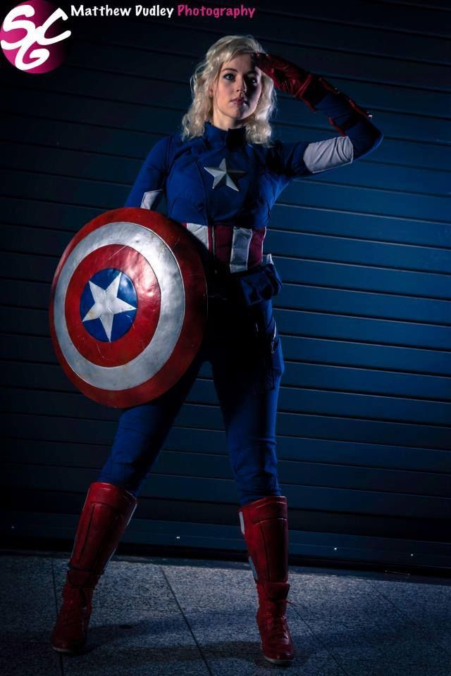 Female Captain America | Avengers Cosplay | Pinterest | Captain America And America