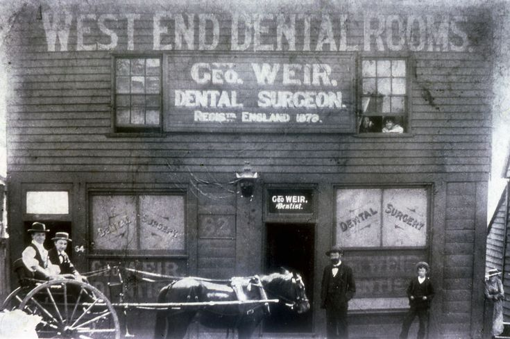 https://flic.kr/p/djNrg2 | C918-0397 'West End Dental Rooms', 'George Weir Dental Surgeon', Hunter Street West, Newcastle, undated | This image was scanned from a 35mm slide taken by the late Dr John Turner (1933 - 1998), local historian and lecturer. His collection is rich in Australian history and local studies. This image can be used for study and personal research purposes. If you wish to reproduce this image for any other purpose you must obtain permission by contacting the University…