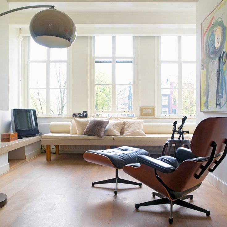 Best 25+ Mid Century Modern Living Room With Eames Chair Ideas On Pinterest  | Midcentury Throws, Nyc Barstool And Mid Century Dining Table Part 53