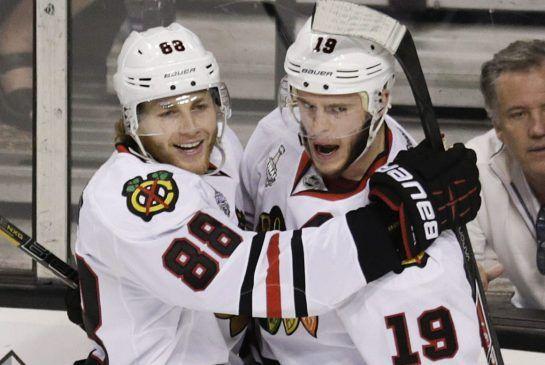 Stanley Cup final: Patrick Kane, Jonathan Toews dynamic duo for Blackhawks