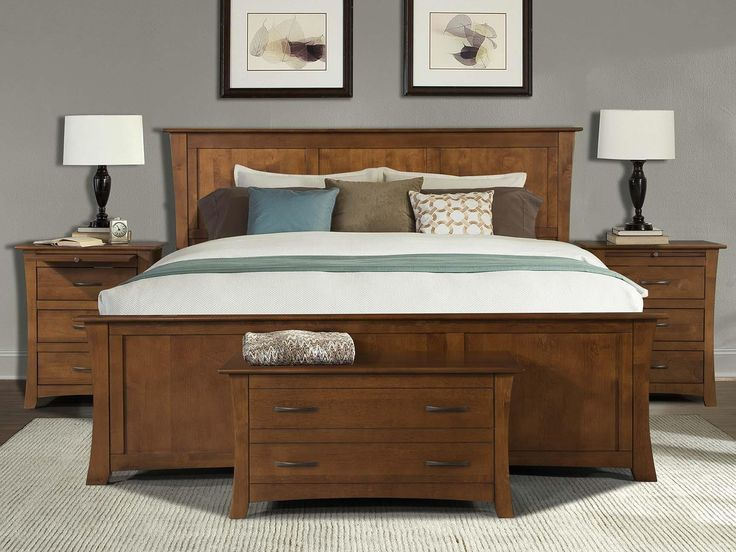 Shop For The AAmerica Grant Park Queen Panel Bed At Furniture Superstore    Rochester, MN   Your Rochester, Southern Minnesota Furniture U0026 Mattress  Store