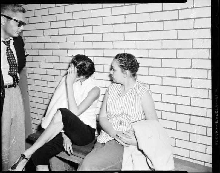 Marijuana raid, 1954 :: Los Angeles Examiner Collection, 1920-1961