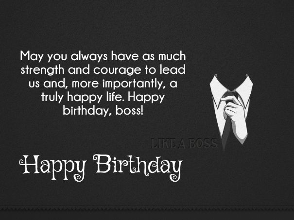 Happy Birthday Wishes To Boss Happy Birthday Boss Quotes Happy Birthday Wishes Quotes Birthday Wishes For Boss